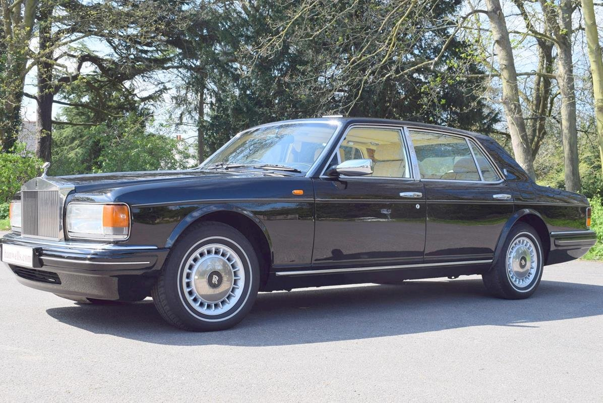 1996 P Rolls Royce Silver Spur MK IV in Masons Black For Sale (picture 4 of 6)