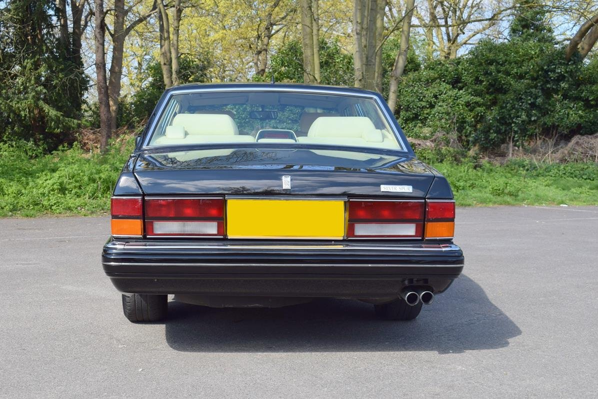 1996 P Rolls Royce Silver Spur MK IV in Masons Black For Sale (picture 5 of 6)