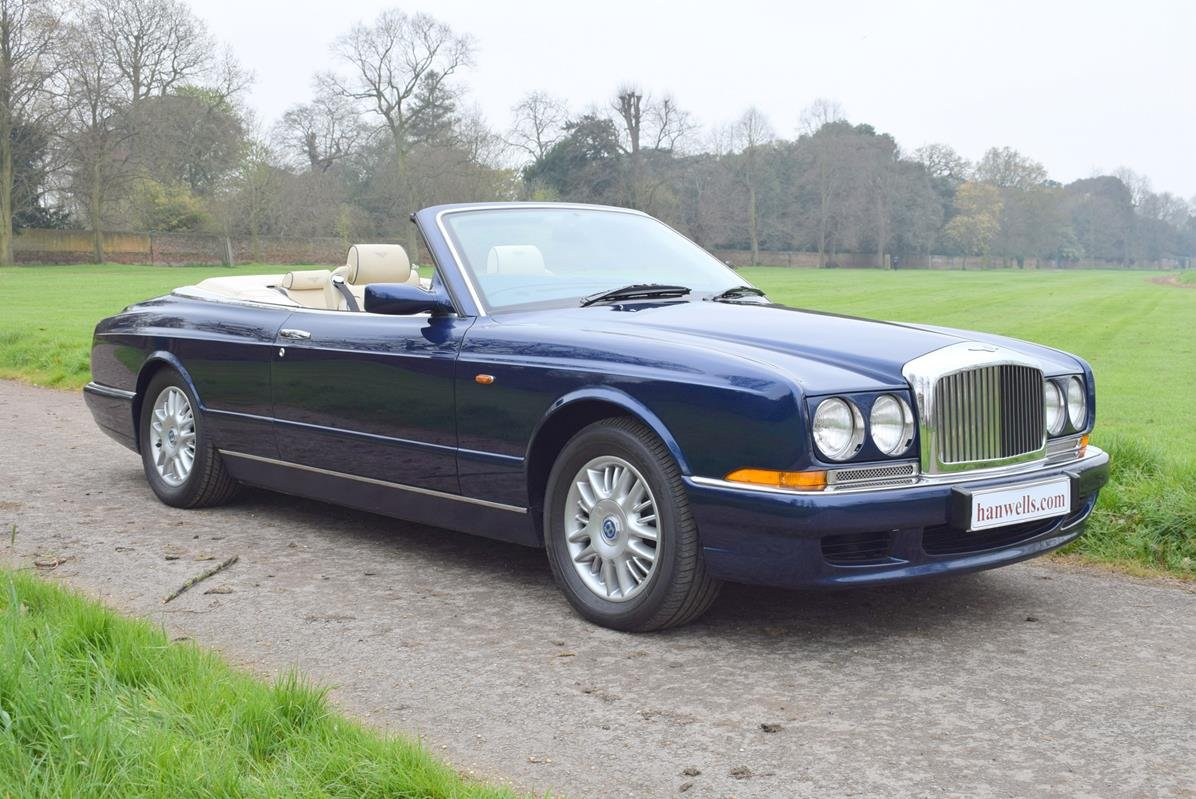 1998 S Bentley Azure Mulliner in Peacock Blue For Sale (picture 1 of 6)