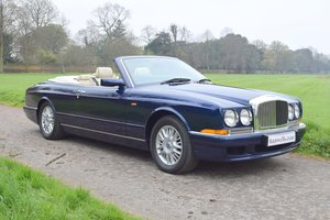 1998 S Bentley Azure Mulliner in Peacock Blue For Sale