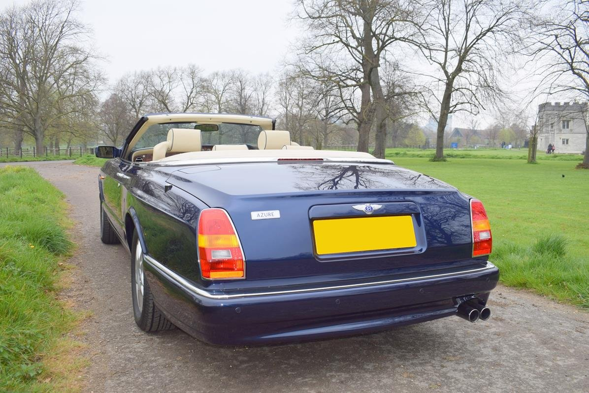 1998 S Bentley Azure Mulliner in Peacock Blue For Sale (picture 5 of 6)