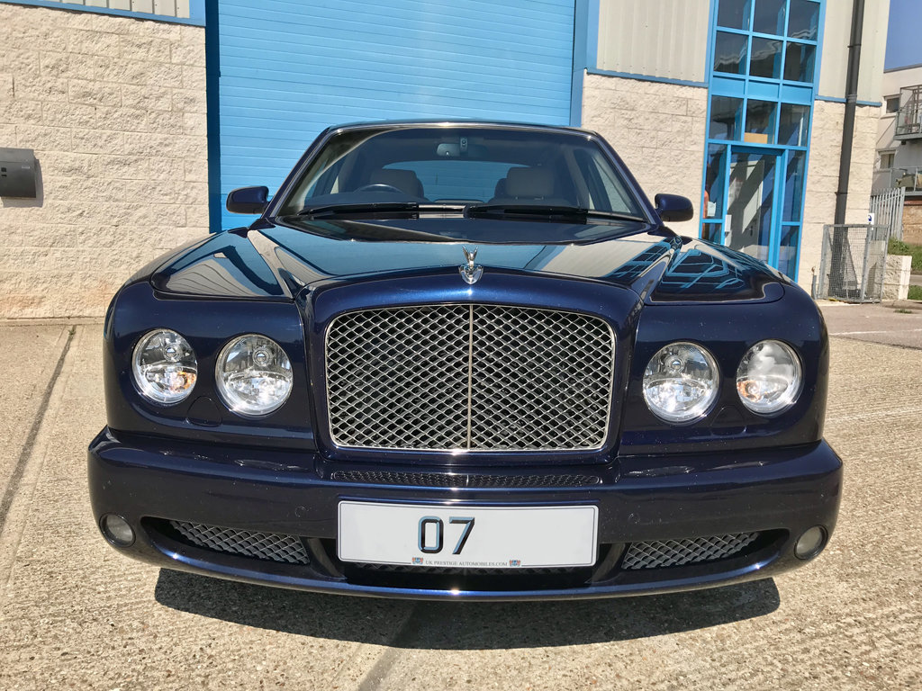 2007 BENTLEY ARNAGE T  500 MULLINER SPORTS COMBINATION LEVEL 2 SOLD (picture 1 of 6)