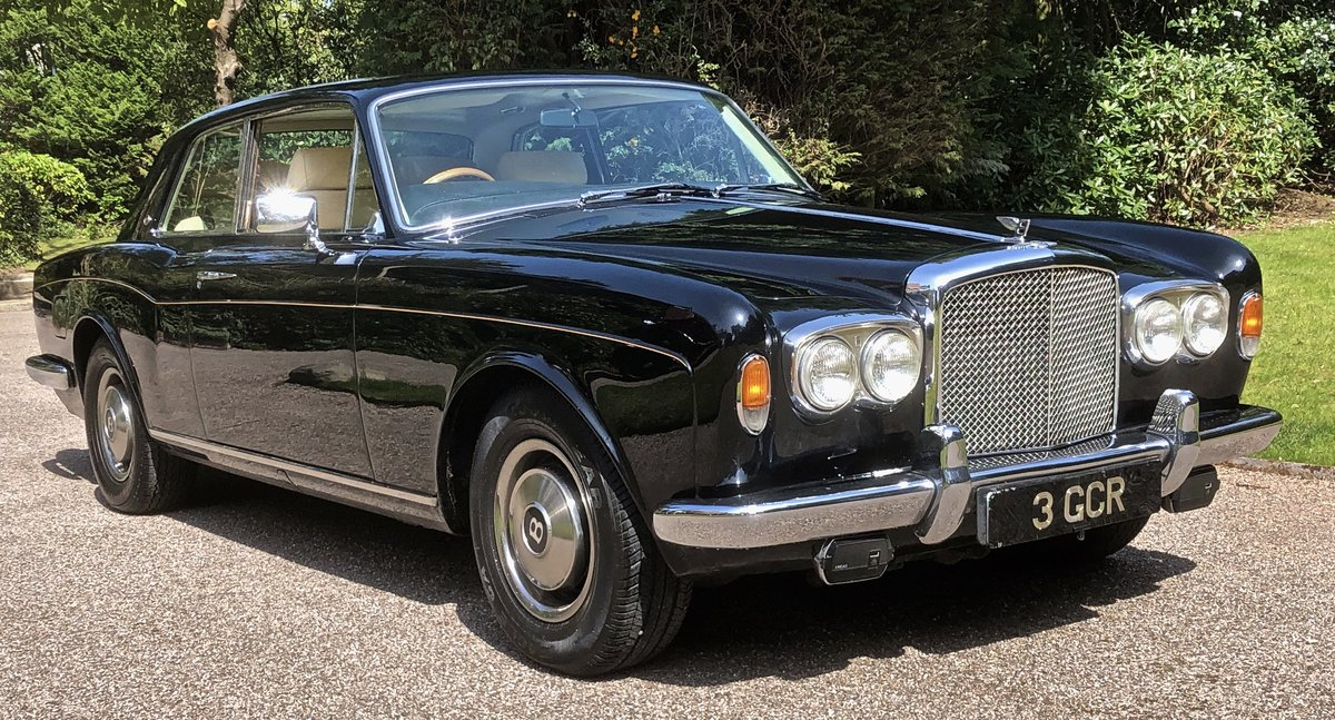 1976 BENTLEY CORNICHE COUPE  For Sale (picture 1 of 6)
