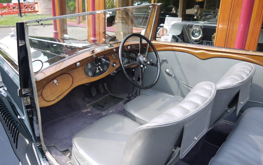 Bentley 3 ½ litre 1934 Drophead Coupe by Barker For Sale (picture 3 of 3)