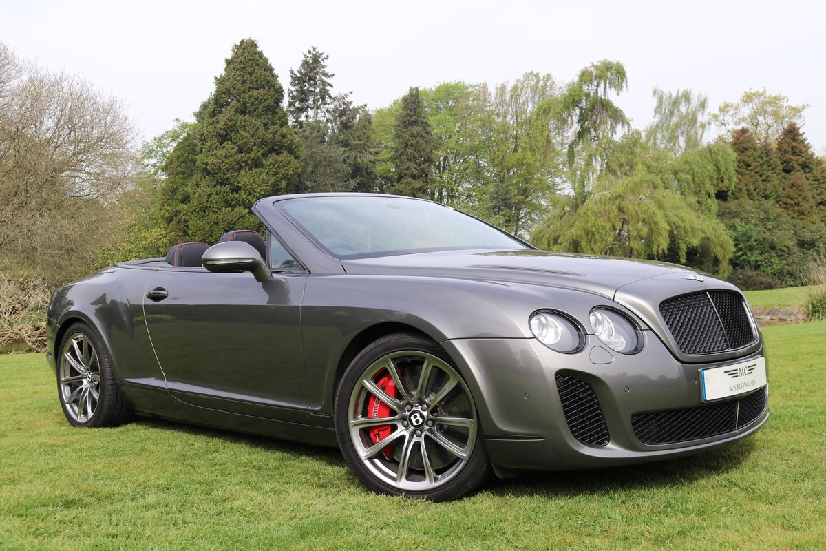 2011 BENTLEY GTC SUPERSPORTS For Sale (picture 1 of 6)