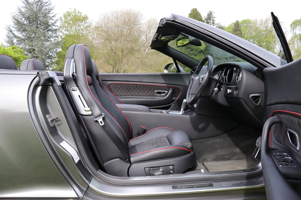 2011 BENTLEY GTC SUPERSPORTS For Sale (picture 4 of 6)