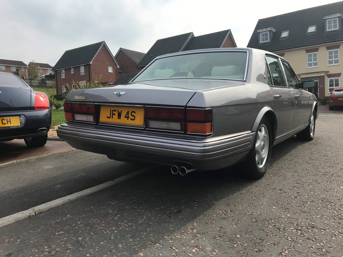 1997 R Reg BENTLEY BROOKLANDS SILVER ONLY 44,000 M For Sale (picture 5 of 6)