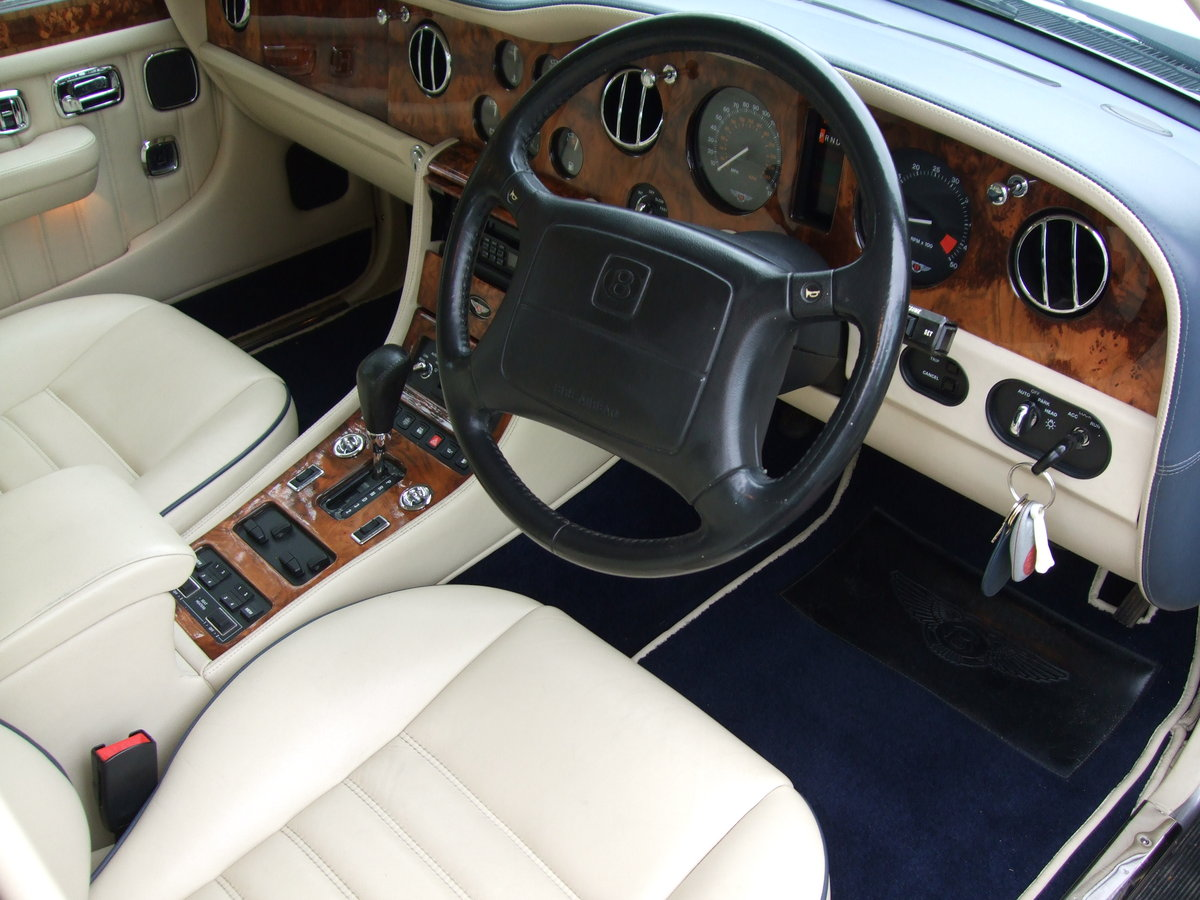 1997 R Reg BENTLEY BROOKLANDS SILVER ONLY 44,000 M For Sale (picture 6 of 6)