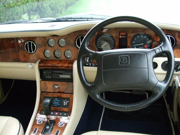 1997 R Reg BENTLEY BROOKLANDS SILVER ONLY 44,000 M For Sale (picture 3 of 6)