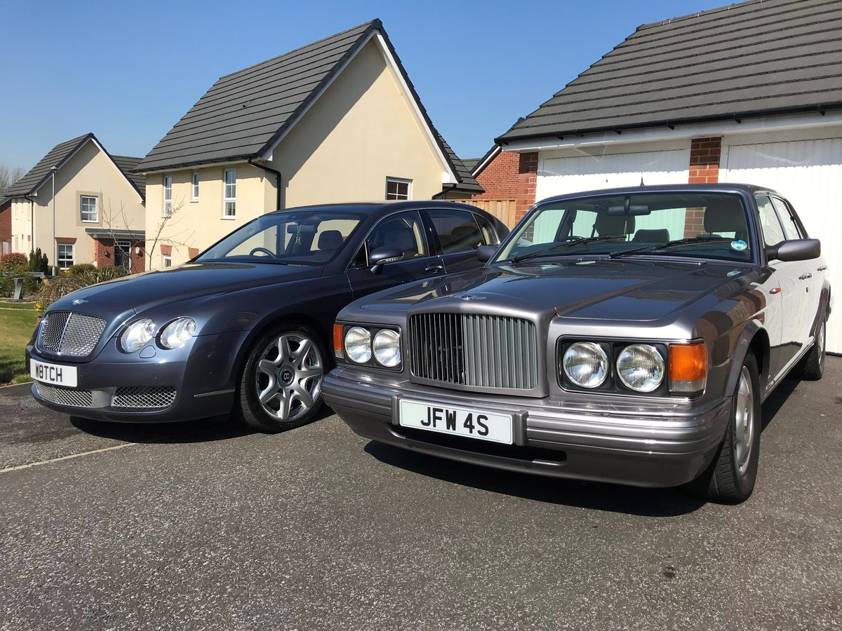 1997 R Reg BENTLEY BROOKLANDS SILVER ONLY 44,000 M For Sale (picture 1 of 6)