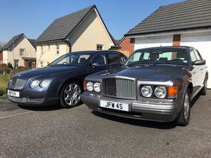 1997 R Reg BENTLEY BROOKLANDS SILVER ONLY 44,000 M