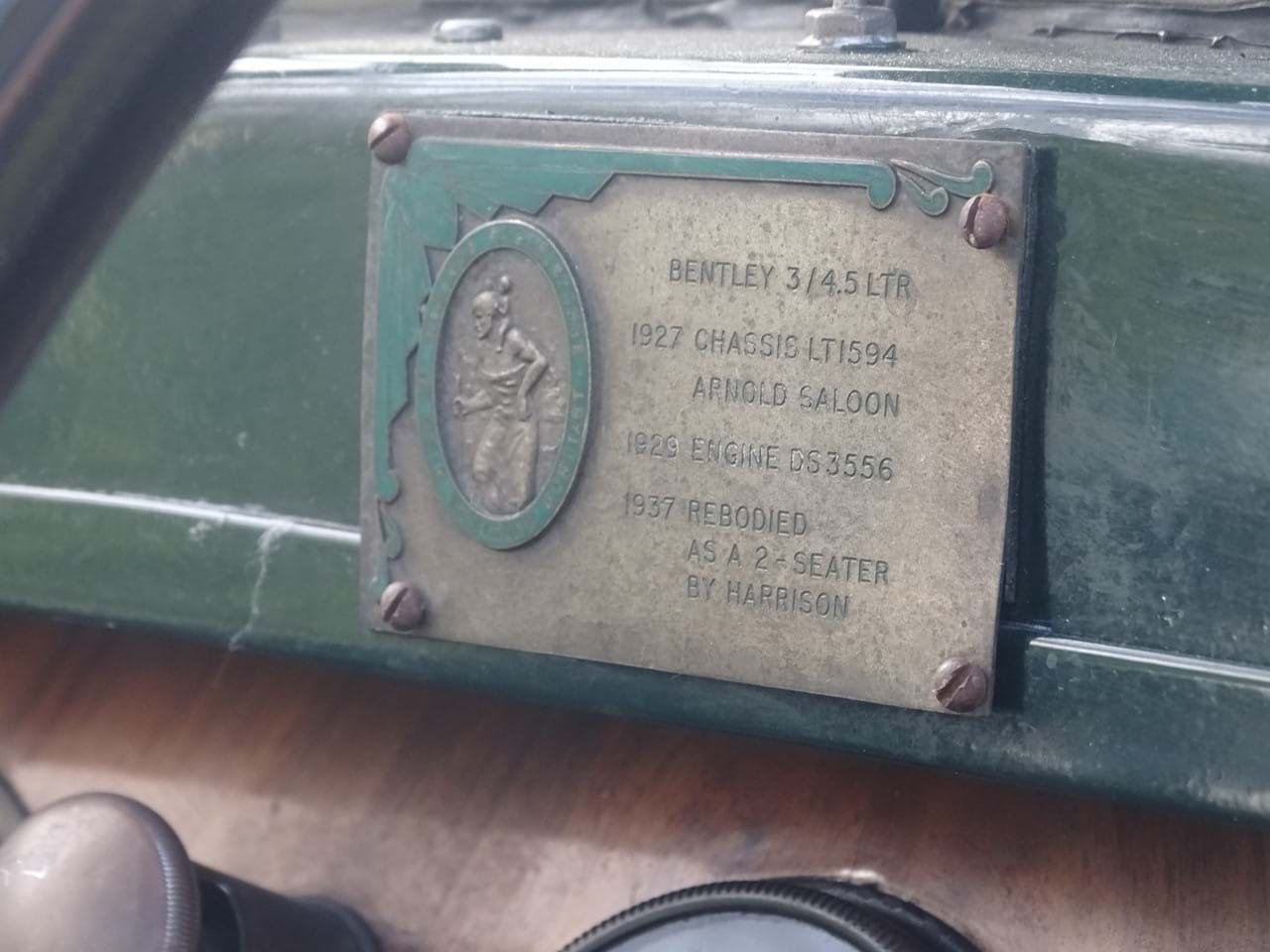 1927 Bentley 3/4.5 Litre Tourer For Sale (picture 6 of 6)