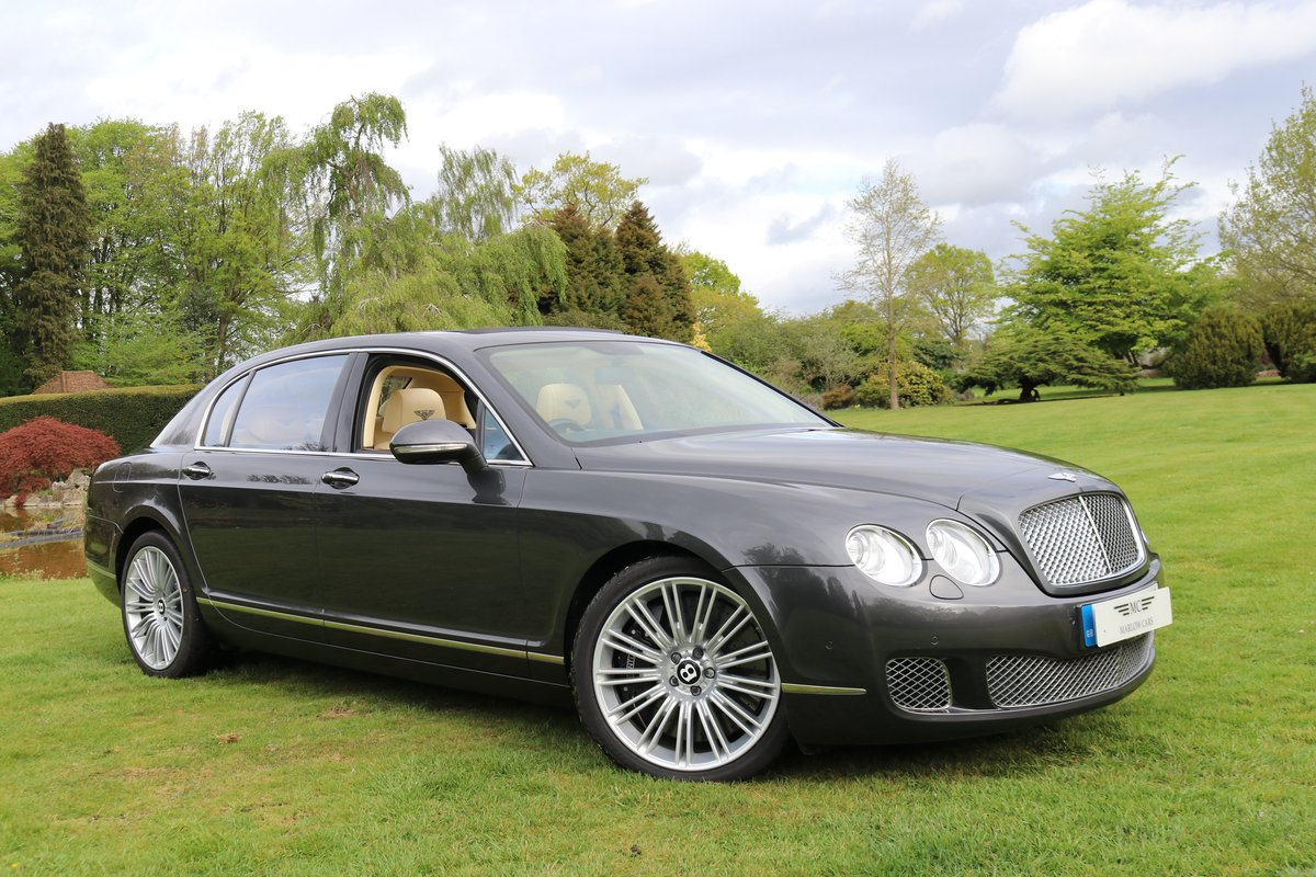 2010 BENTLEY FLYING SPUR SPEED For Sale (picture 1 of 6)