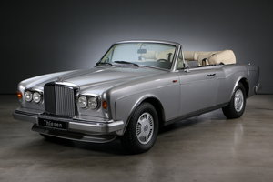 1993 Bentley Continental DHC Series 4 LHD For Sale