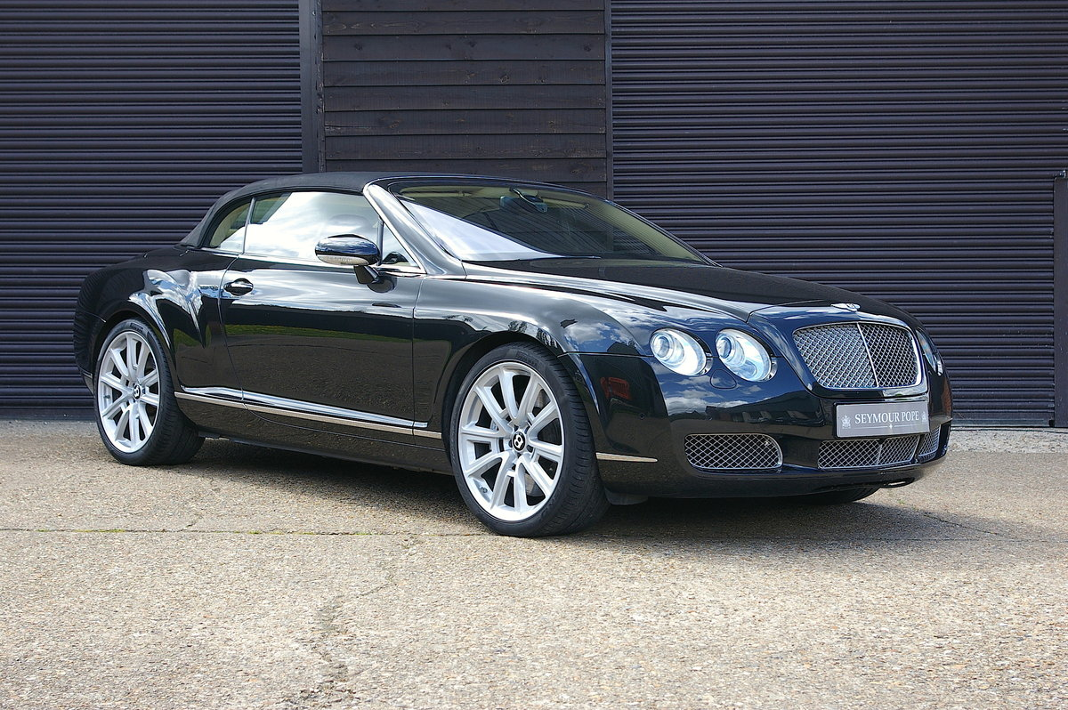 2007 Bentley Continental 6.0 W12 GTC Convertible (66,345 miles) SOLD (picture 1 of 6)
