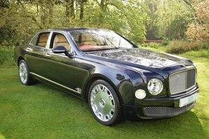 2011 Bentley Mulsanne 6.8 Saloon Automatic SOLD