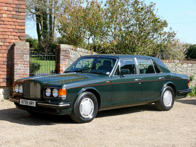 1990 Bentley Turbo R 39,000 Miles For Sale (picture 1 of 6)