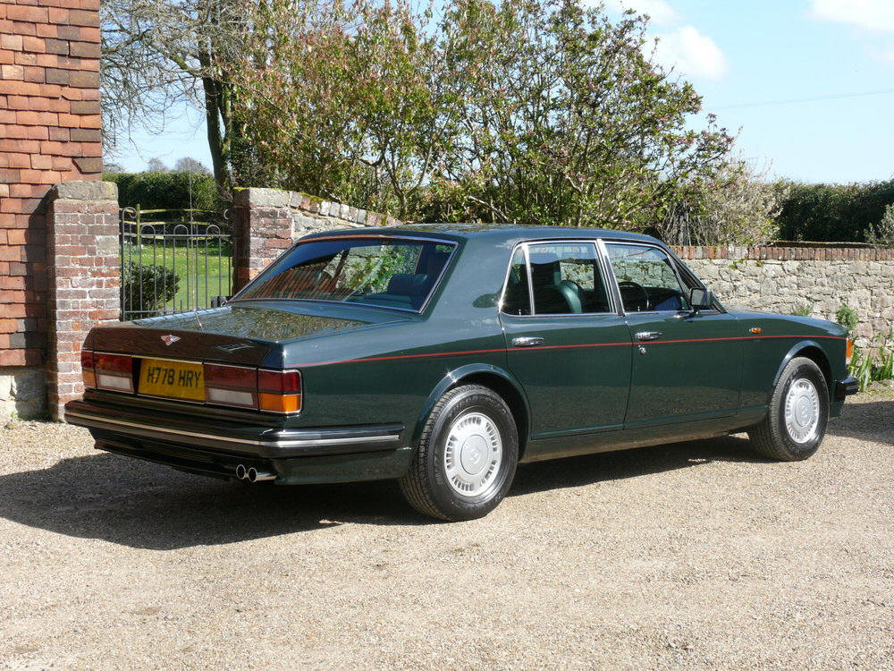 1990 Bentley Turbo R 39,000 Miles For Sale (picture 3 of 6)