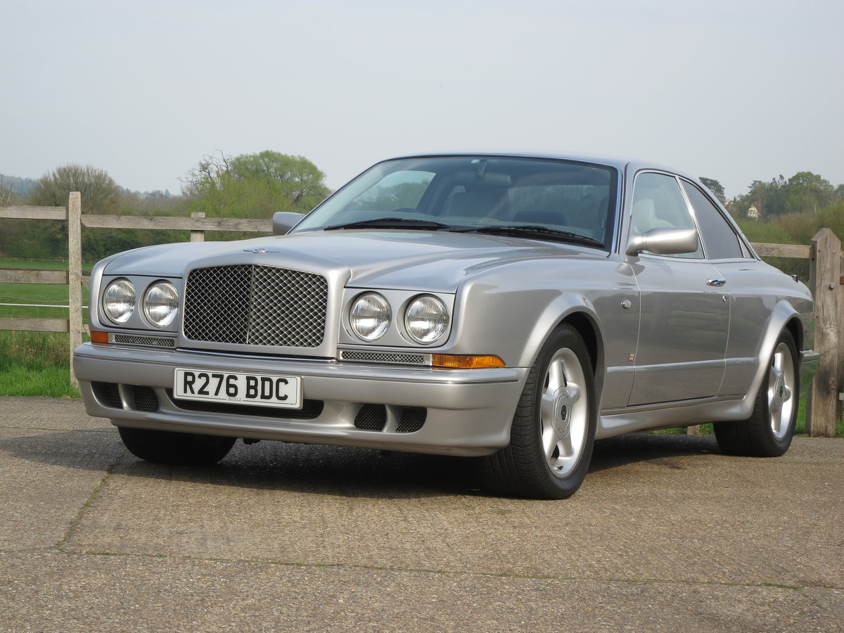 1998 Bentley Continental T 420 BHP For Sale (picture 1 of 6)