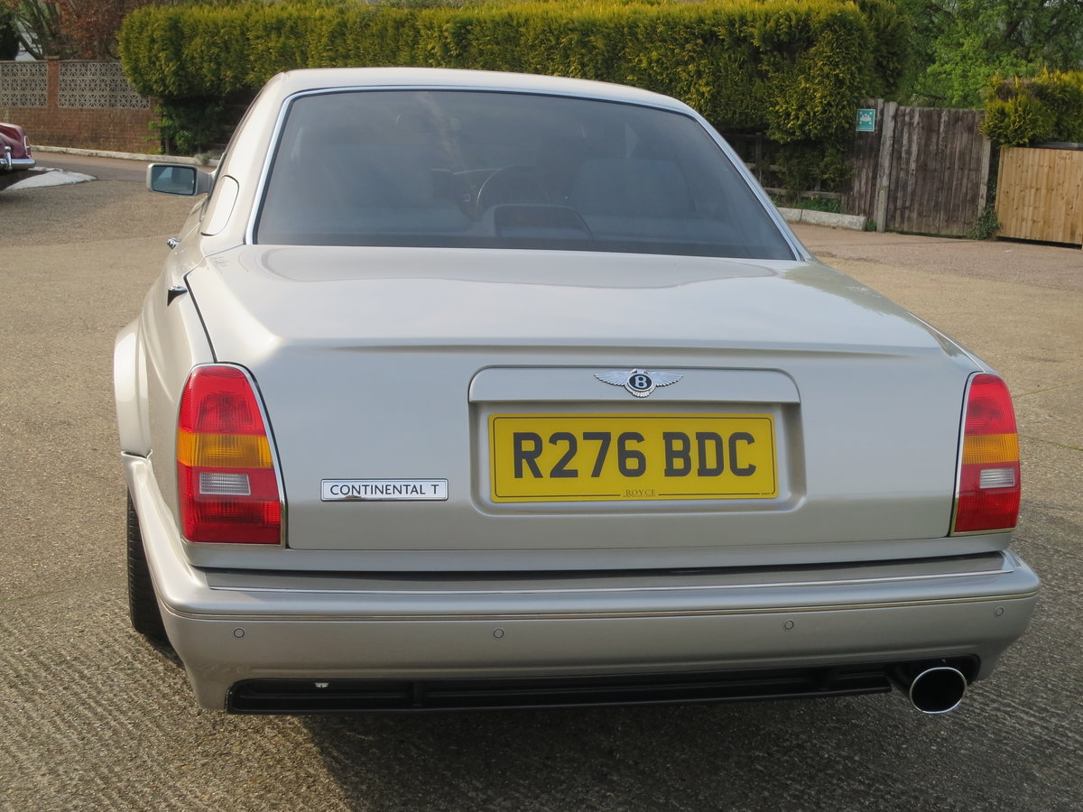 1998 Bentley Continental T 420 BHP For Sale (picture 3 of 6)