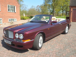 "Bentley Azure 1999 ""T"" - Registration For Sale"