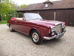1968 Bentley T 1 Drophead Coupe  SOLD