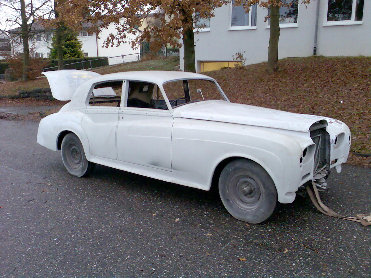 1962 Early Bentley S3 Saloon for Restauration For Sale (picture 1 of 6)