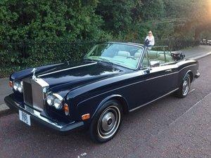 1984 LHD Rolls-Royce Corniche For Sale