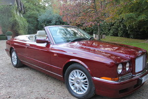1998 Red Bentley Azure 6.8 2dr For Sale