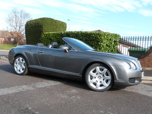 2008 Bentley  Continental  GTC     Only 27,000miles