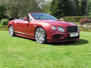 2016 BENTLEY GTC SPEED