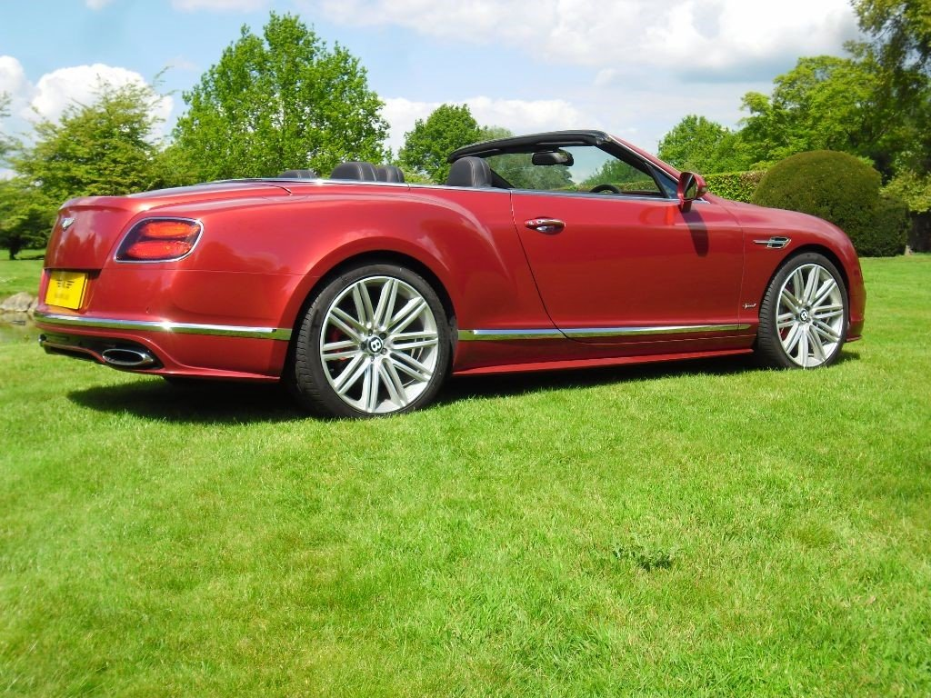 2016 BENTLEY GTC SPEED For Sale (picture 3 of 6)