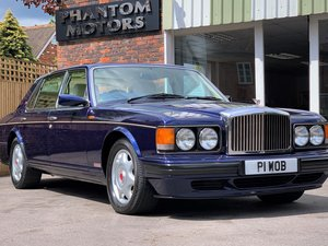 1997 Bentley Turbo RL - LWB 35000 miles FDSH - Peacock Blue For Sale