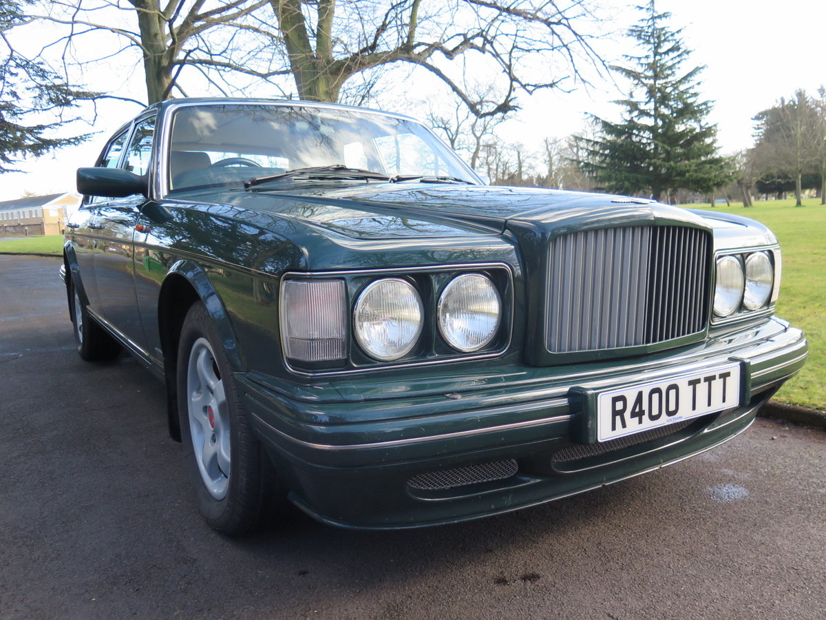 Rare Bentley Turbo RT (1997) SOLD (picture 1 of 6)