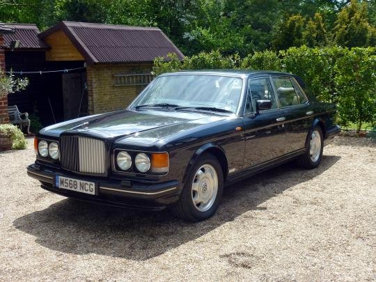1995 Bentley Turbo R For Sale by Auction (picture 1 of 1)