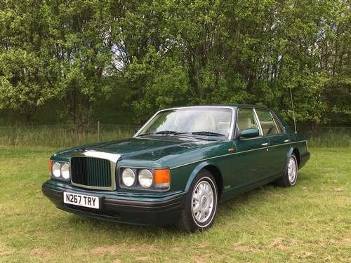 1996 Bentley Brooklands Auto at Morris Leslie Auction 25th May SOLD by Auction (picture 1 of 6)