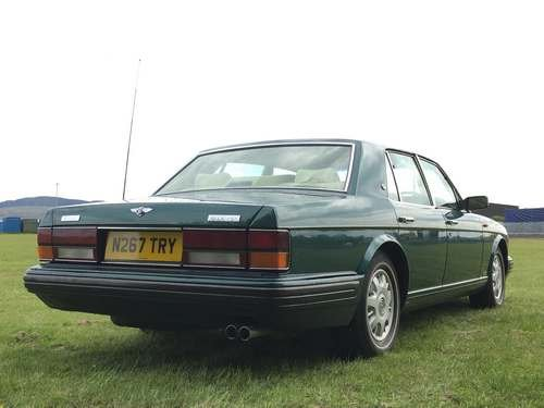 1996 Bentley Brooklands Auto at Morris Leslie Auction 25th May SOLD by Auction (picture 2 of 6)