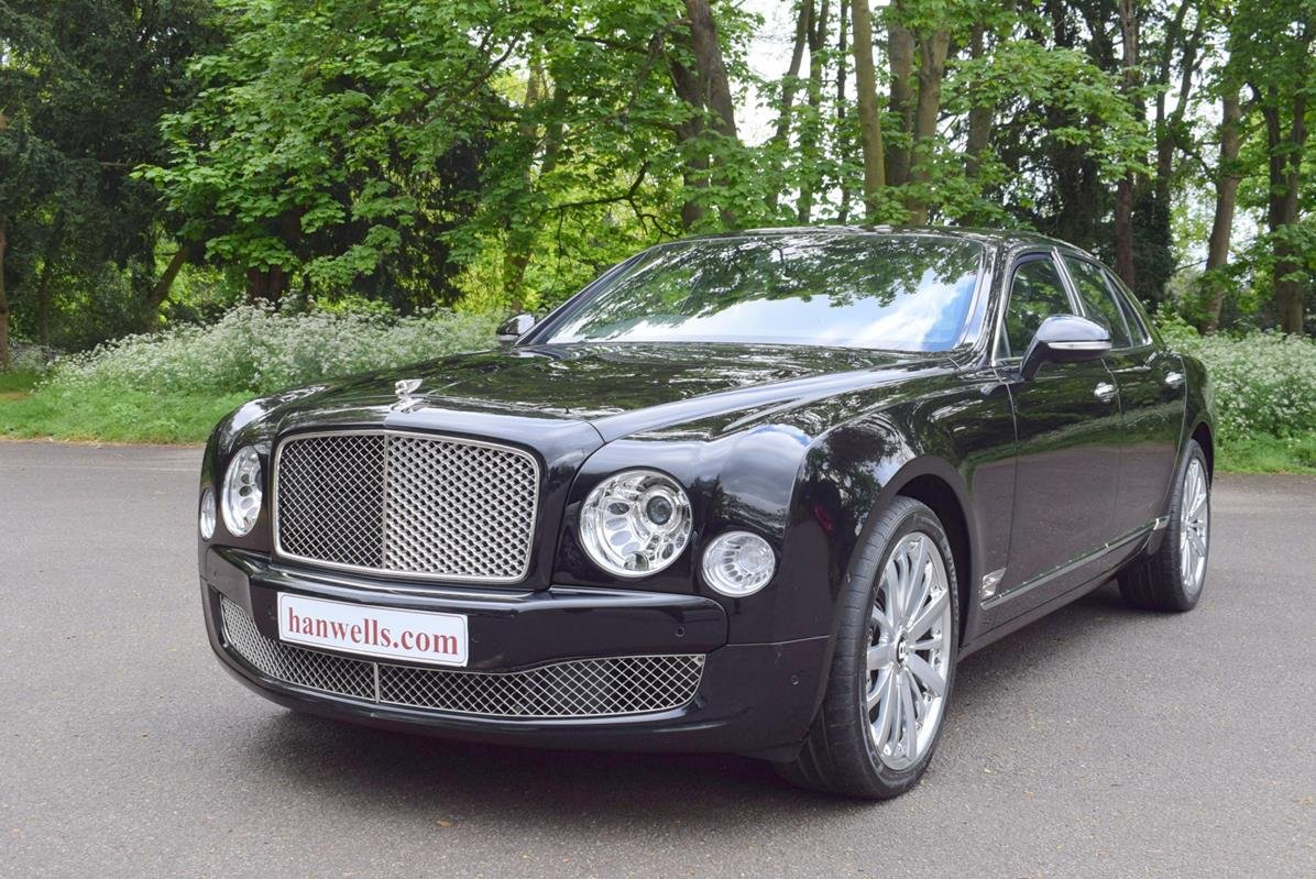 2014/14 Bentley Mulsanne Mulliner in Onyx For Sale (picture 1 of 6)