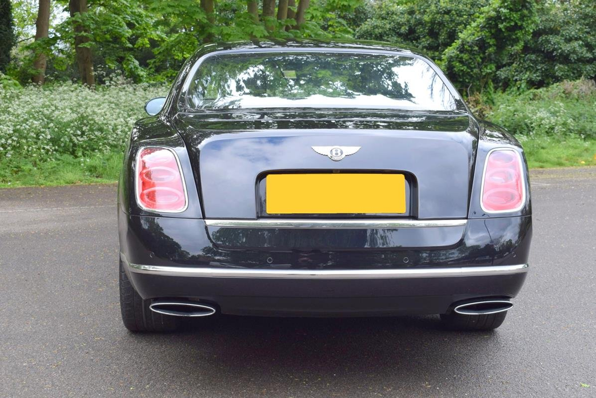 2014/14 Bentley Mulsanne Mulliner in Onyx For Sale (picture 5 of 6)