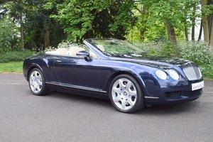 2008/08 Bentley Continental GTC Mulliner in Sapphire Blue
