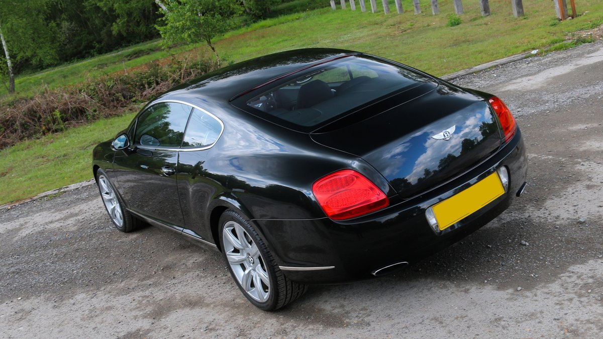2009 BENTLEY CONTINENTAL GT 6.0 W12 | FANTASTIC HISTORY SOLD (picture 2 of 6)