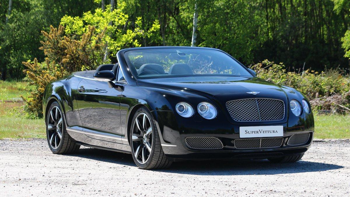2008 BENTLEY GTC W12 - MULLINER DRIVING SPECIFICATION SOLD (picture 1 of 6)
