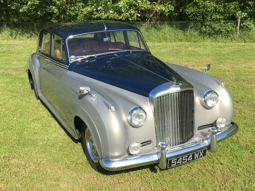 1961 Bentley S2 Series C at Morris Leslie Auction 17th August SOLD by Auction (picture 1 of 6)