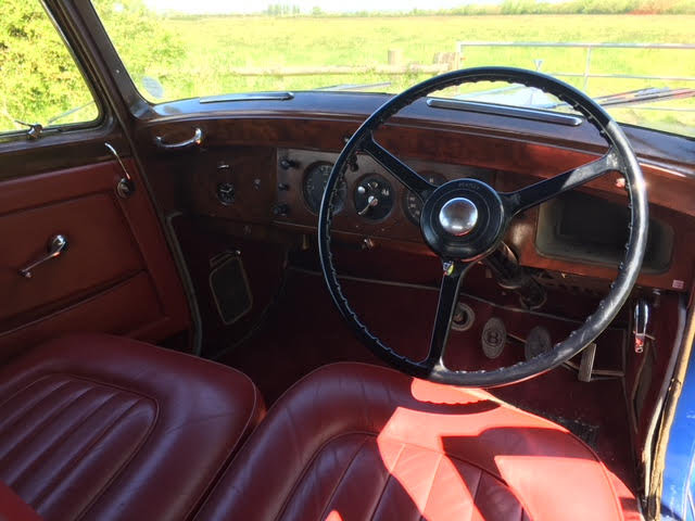 1953 BENTLEY R TYPE 4.5 LITRE - £26,950 For Sale (picture 9 of 12)