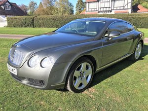 2005 Bentley Continental GT 6.0 with superb history+12M MOT