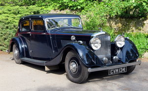 1936 Bentley 4 ¼ William Arnold Sports Saloon B39GP