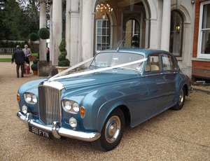 1963 Caribbean Blue Bentley S3