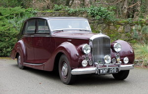 1951 Bentley MK VI Freestone & Webb Saloon B195HP