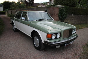 1984 Breathtaking Bentley Mulsanne Turbo With Low Mileage & FSH For Sale