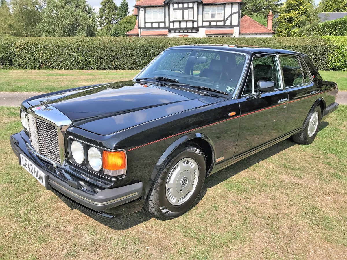 1994 Bentley Turbo R + black with black+69000m SOLD (picture 2 of 6)